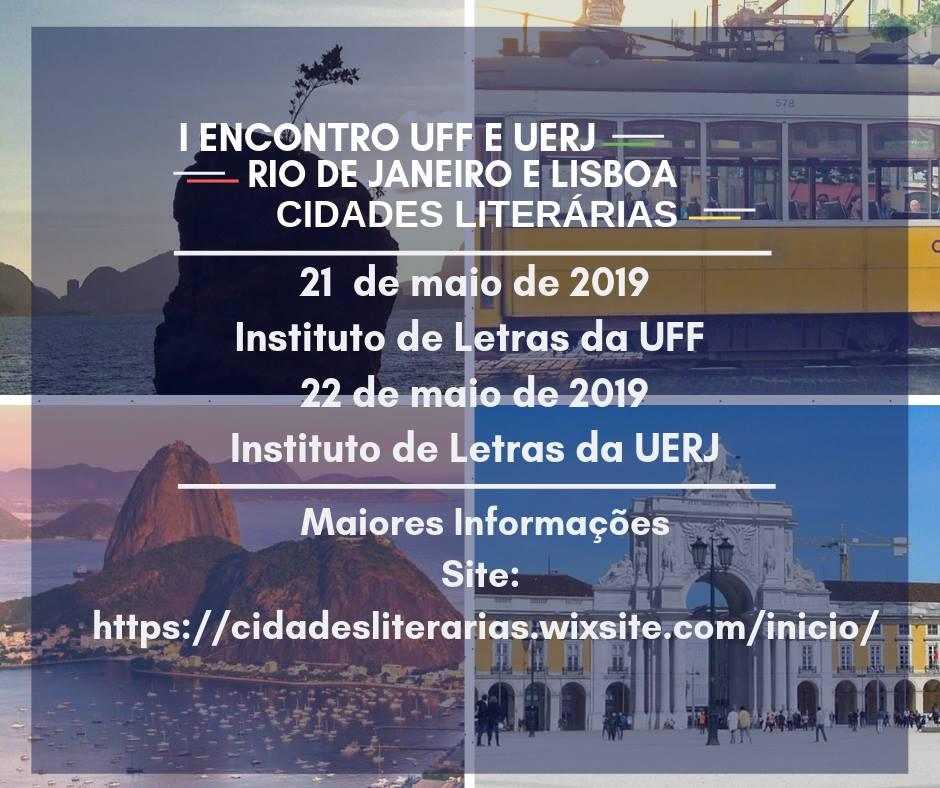 I Encontro Rio de Janeiro e Lisboa Cidades Literárias